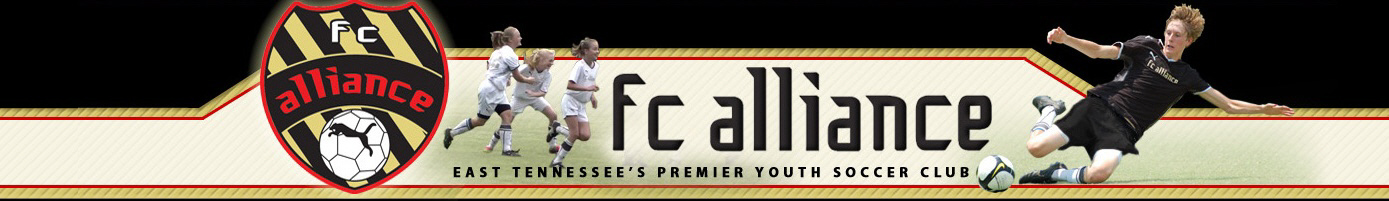 FC Alliance Select Travel Teams banner